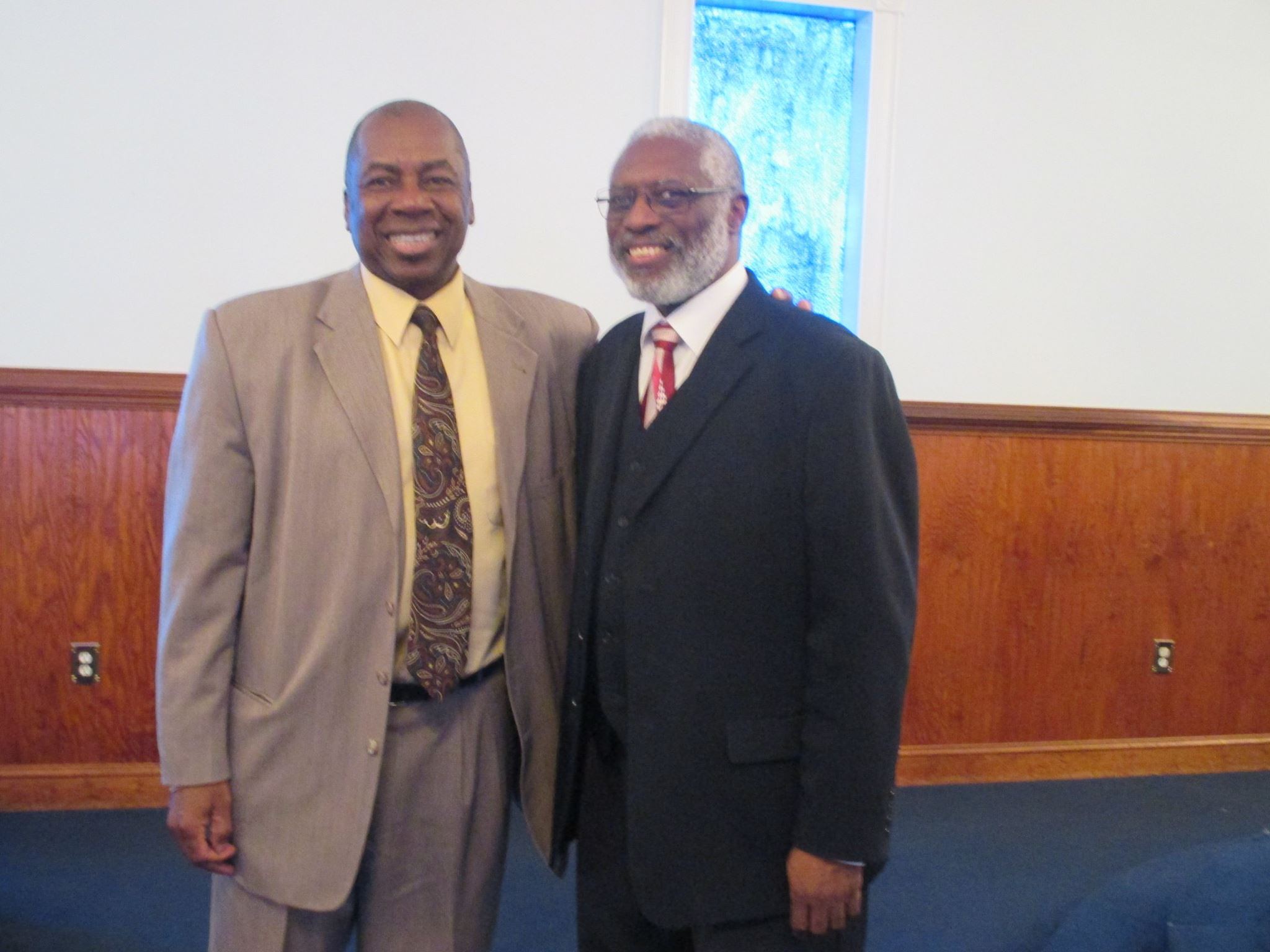 Pastor Joseph and J. Bishop Knox